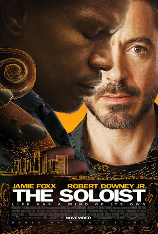 A sz�lista - The Soloist (2009)