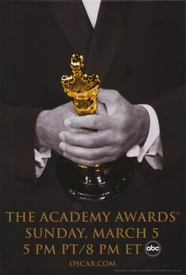 A 2006-os Oscar-gála plakátja (férfi verzió)