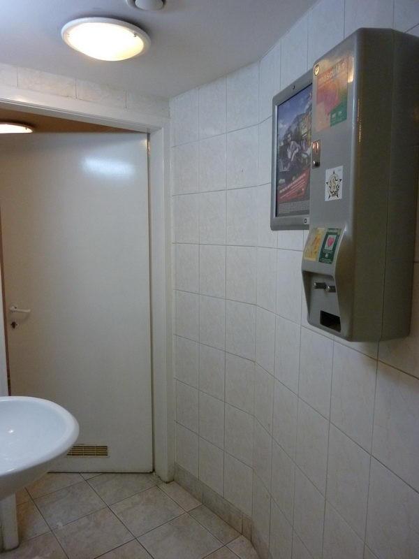 WC belépő