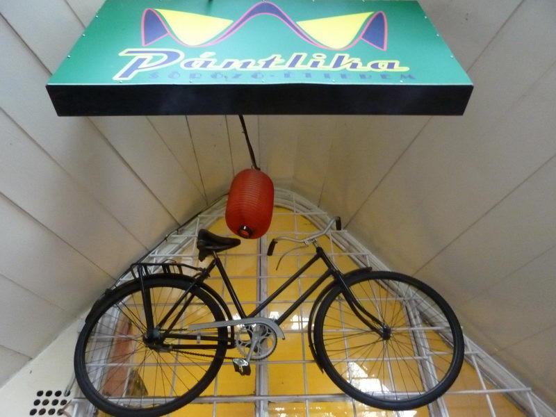 Kerékpár a jele
