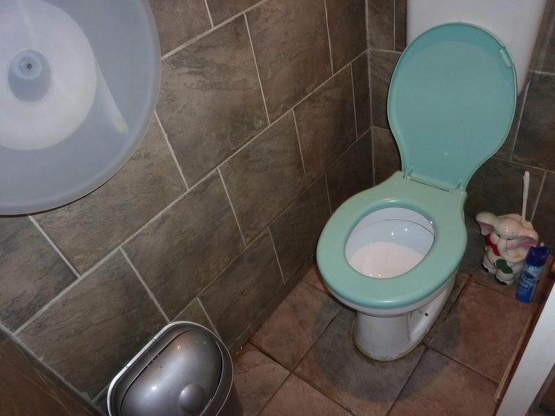 Elefántos WC-kefe