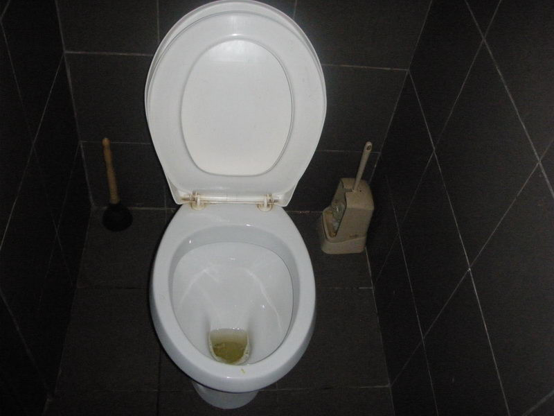 Pumpa, wc, kefe
