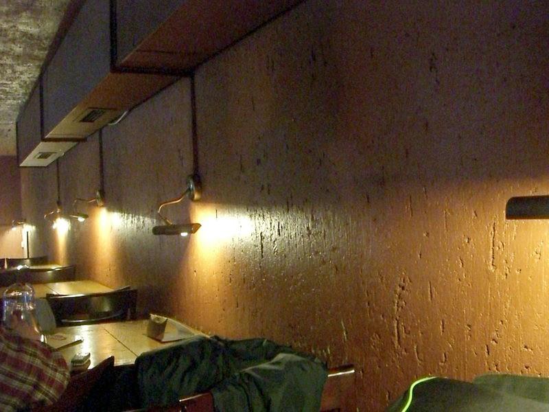 Egyik verzió: nézni a falat