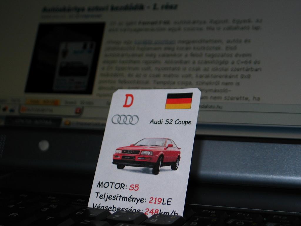 Audi S2 Coupe, mk6