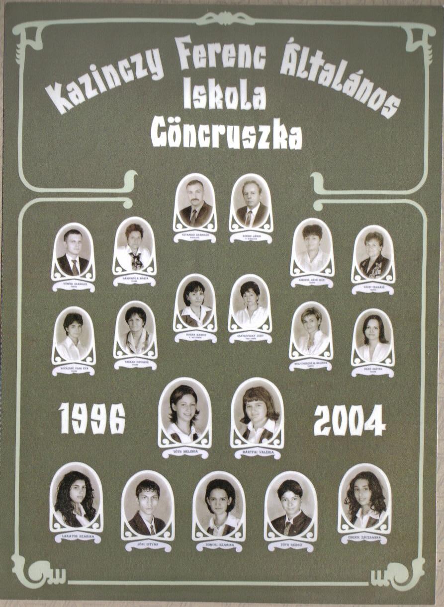 Kazinczy Ferenc Ált. Iskola 2004.