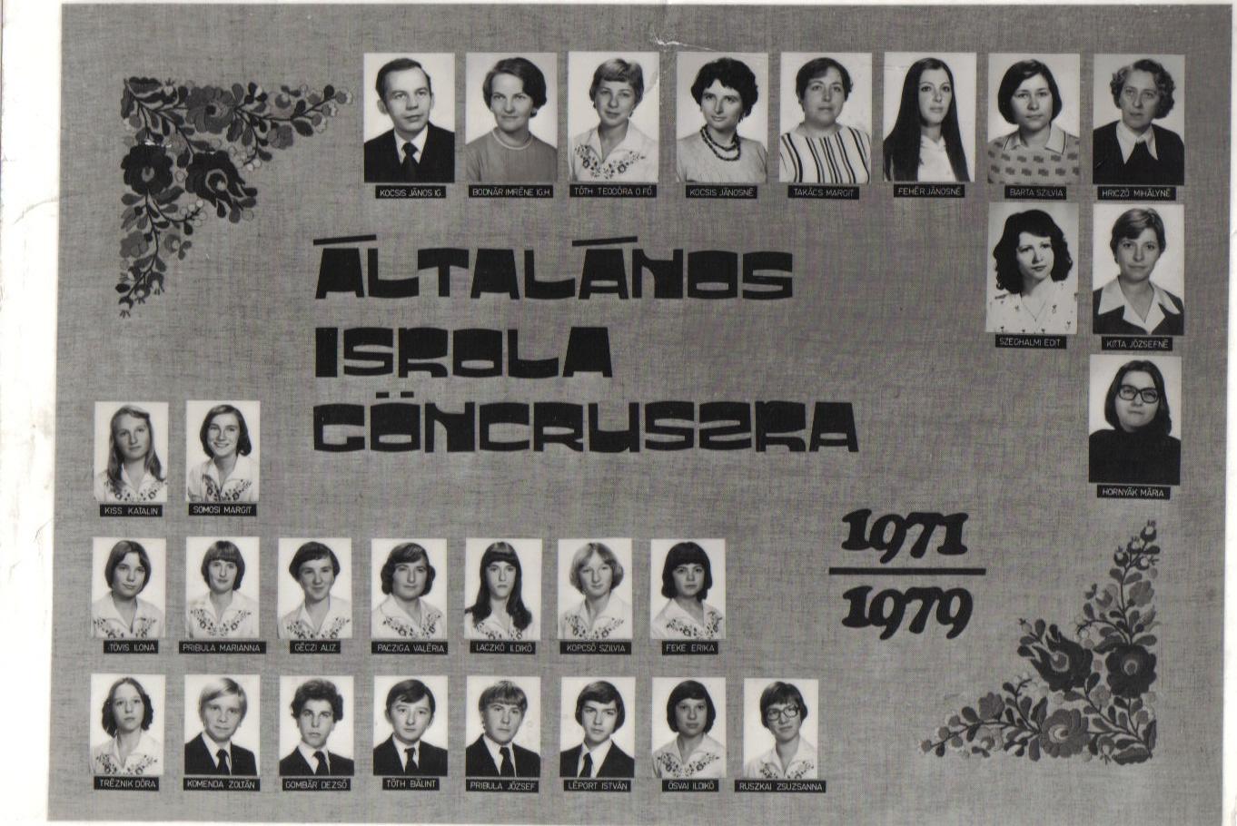 Ált. Iskola 1979.