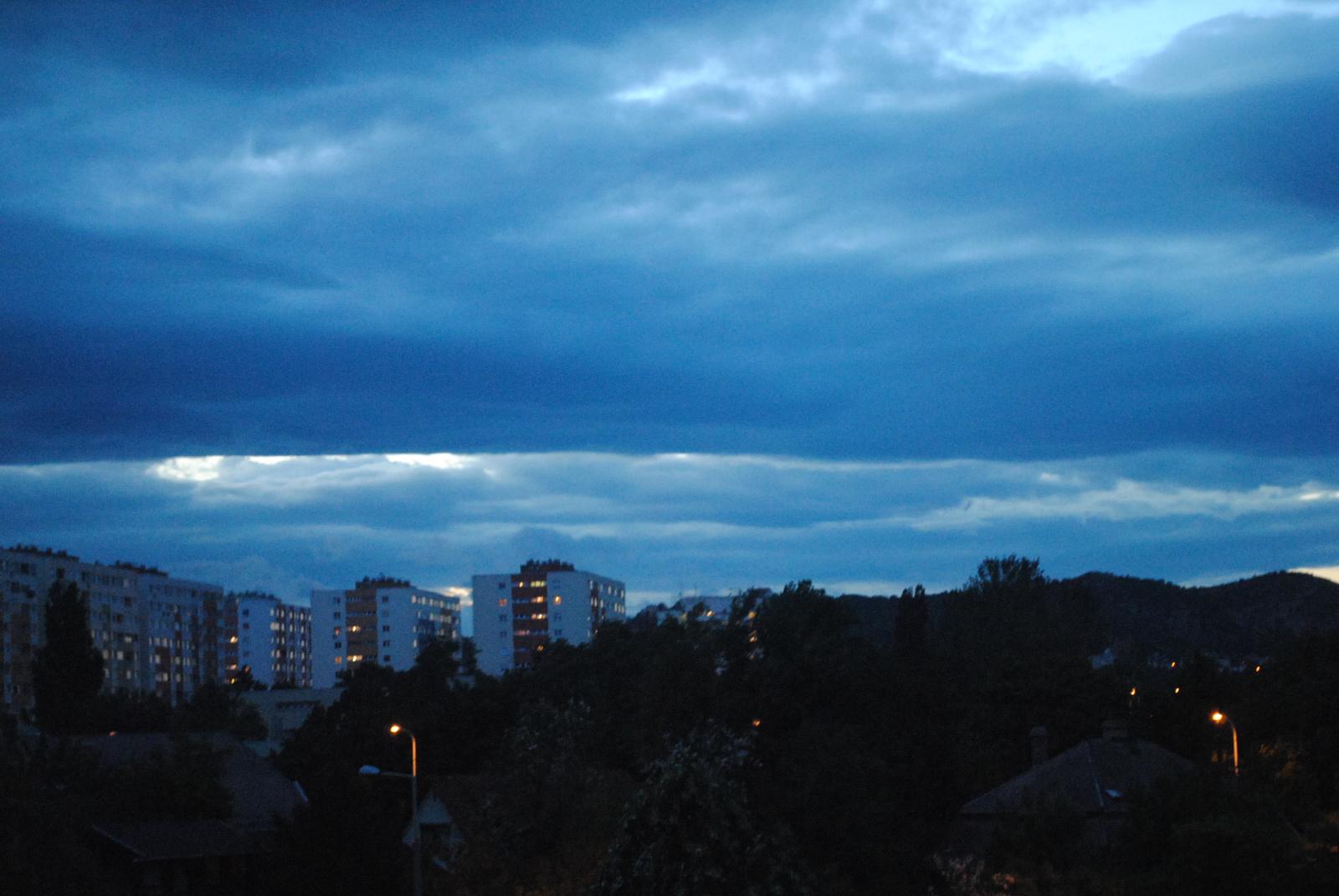 esti felhőkép